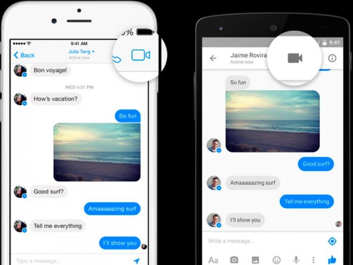 noticias tecnología facebook permite videollamadas en Messenger