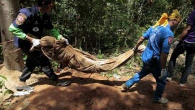 noticias internacionales encuentran fosas clandestinas en Malasia