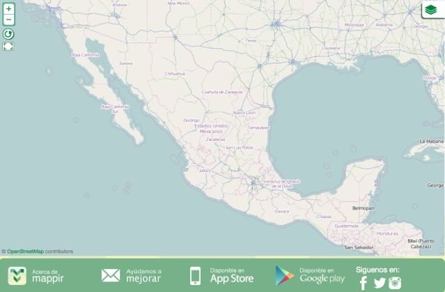 nueva app mapa casetas