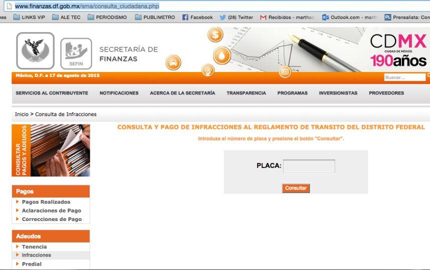 C mo saber si tengo multas vehiculares sin pagar for Bankia oficina internet entrar directo
