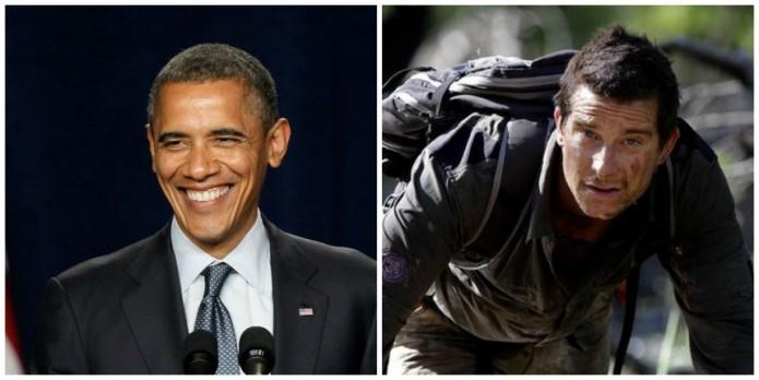 noticias entretenimiento Obama grabará programa de técnicas de supervivencia junto a Bear Grylls