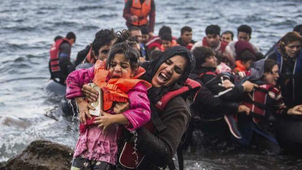 Grecia ha recibido a 400 mil personas este año; 97 % son refugiados