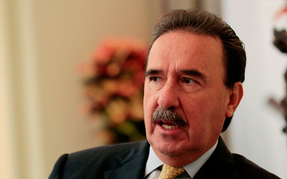 El senador del PRI, Emilio Gamboa.