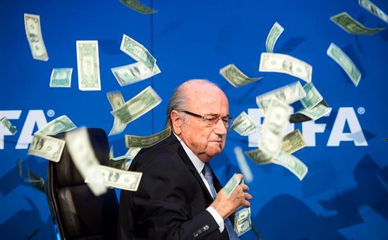 Joseph Blatter, ex presidente de la FIFA.