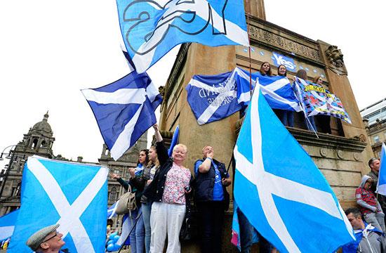 Escocia alista independencia del Reino Unido.