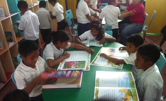 Bibliotecas escolares.
