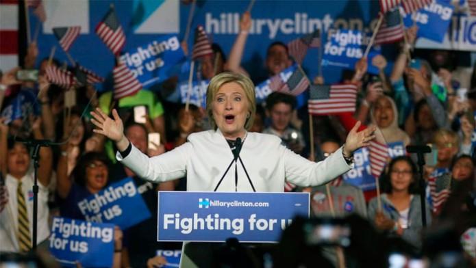 Hillary Clinton hace historia / Foto: AP
