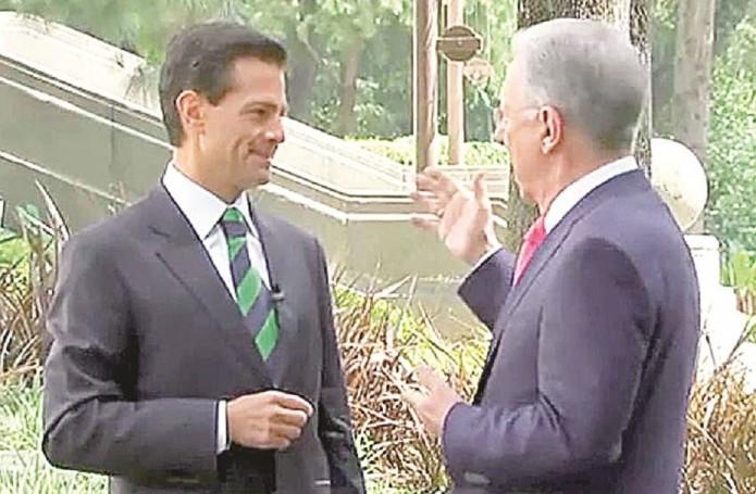 Advierte EPN: no meterá las manos por Medina