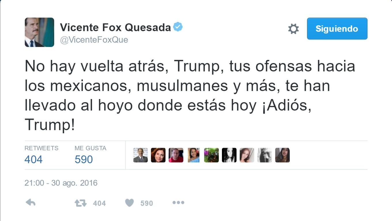 Vicente Fox contra Trump- Gregorio Martínez.