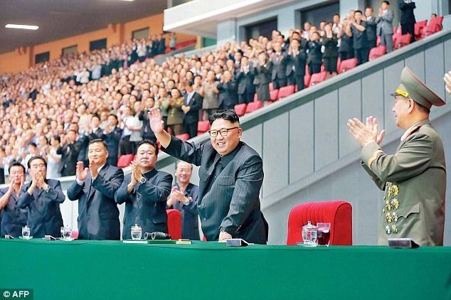 Kim Jong Un- Gregorio Martínez.