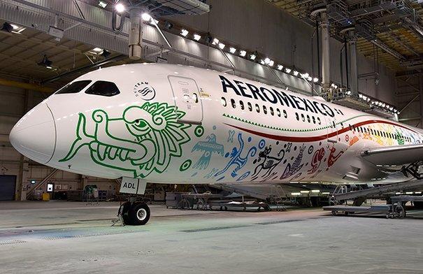 Quetzalcóatl, Aeroméxico- Gregorio Martínez.