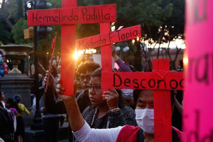 Feminicidios en Puebla- Gregorio Martínez.