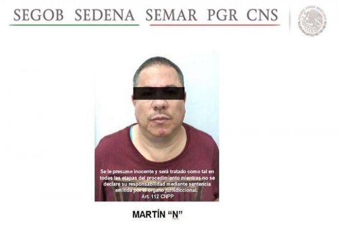 Detienen a lugarteniente del Mayo Zambada- Gregorio Martínez.