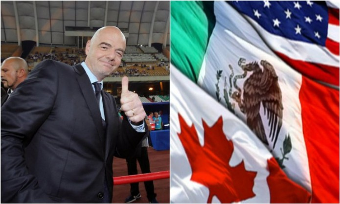 FIFA quiere Mundial conjunto- Gregorio Martínez.