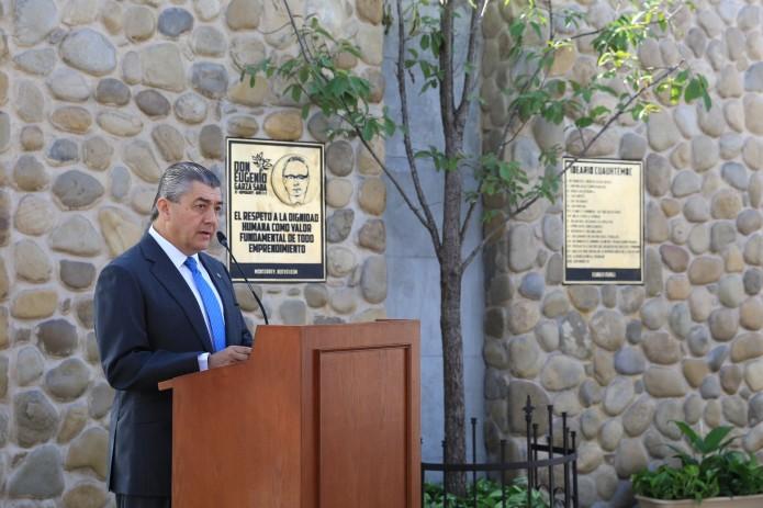Honran memoria de Don Eugenio Garza Sada