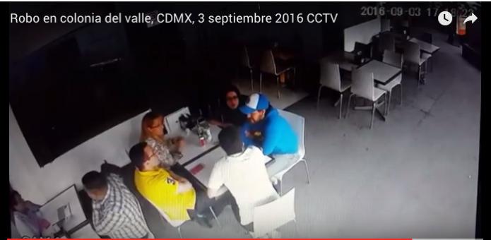 Captan modus operandi de pareja de ladrones- Gregorio Martínez.
