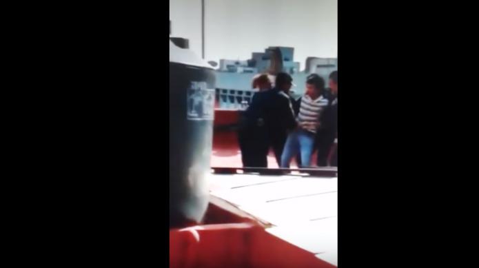 Policías evitan suicidio de un hombre- Gregorio Martínez.