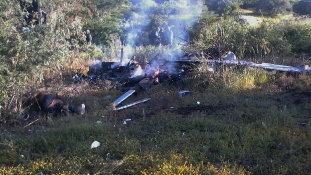 Helicóptero en Michoacán no fue derribado- Gregorio Martínez.Helicóptero en Michoacán no fue derribado- Gregorio Martínez.