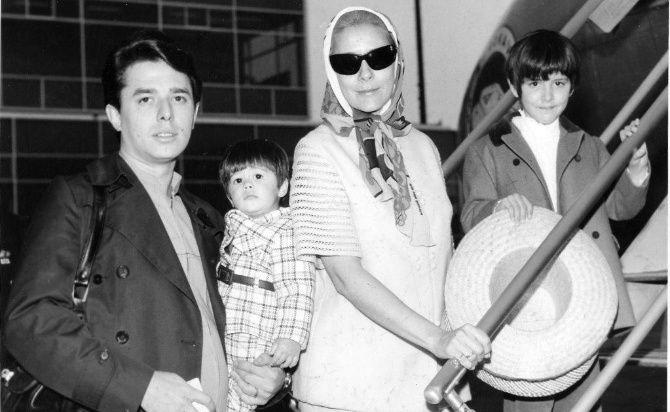 Silvia Pinal y Enrique Guzmán- Gregorio Martínez.Silvia Pinal y Enrique Guzmán- Gregorio Martínez.