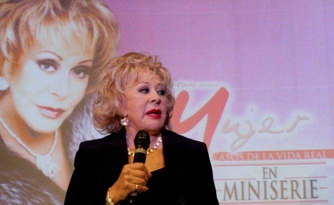 Silvia Pinal, en la actualidad- Gregorio Martínez.