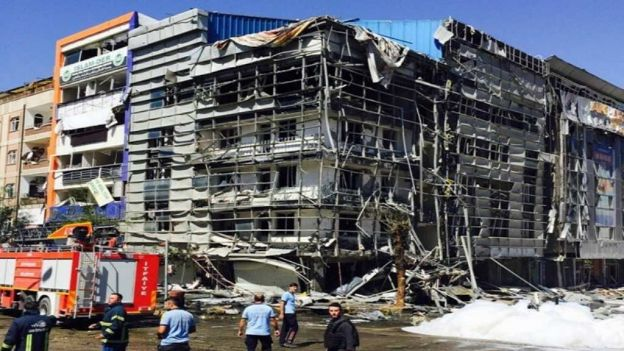 Explosión en Turquía- Gregorio Martínez.Explosión en Turquía- Gregorio Martínez.