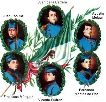 Los Niños Héroes- Gregorio Martínez.