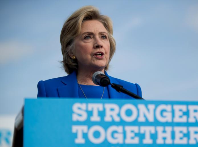 Hillary Clinton en campaña- Gregorio Martínez.