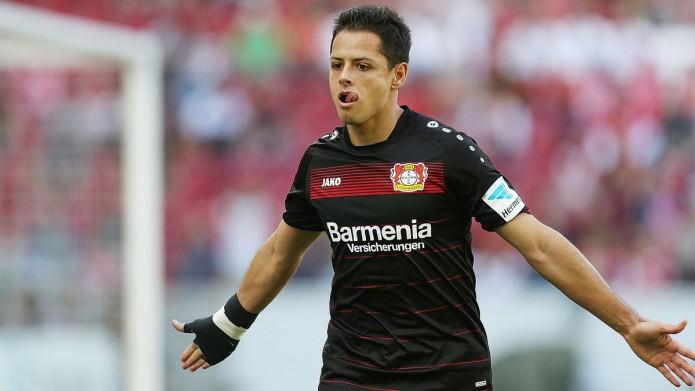 El delantero mexicano impuso su estilo frente al Mainz 05. Foto: Cortesía