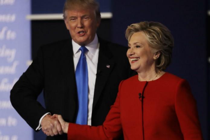 La candidata demócrata a la Casa Blanca, Hillary Clinton, ganó hoy el primer debate presidencial a su rival. Foto: Cortesía