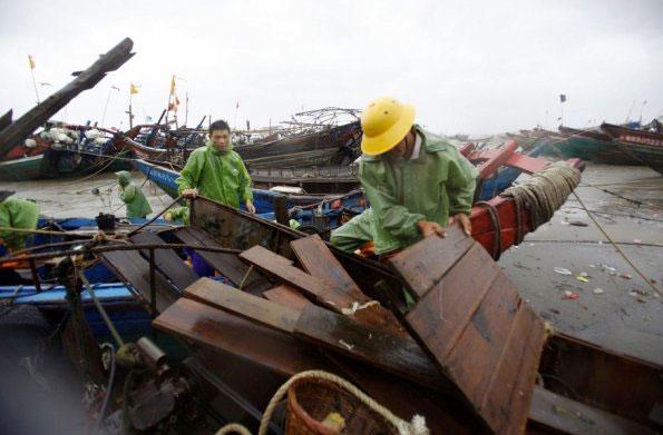 Después de pasar a través de Taiwán, se espera que el tifón se debilite y se dirija hacia el este de China, donde las autoridades meteorológicas ya activaron la alerta naranja. Foto: Cortesía