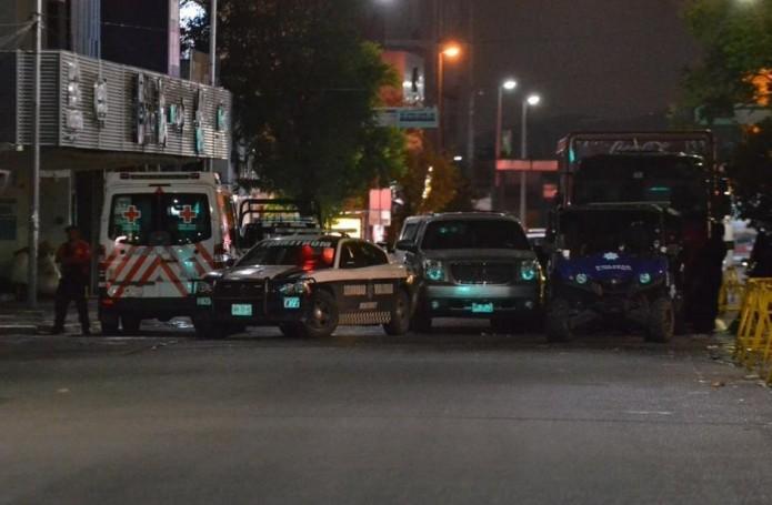 Autoridades de distintos niveles de seguridad cercaron la zona, mientras se mantenían negociaciones con el captor. Foto: Cortesía Periódico ABC