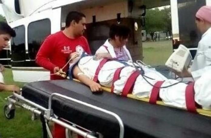 El incidente ocurrió la tarde de este domingo en una carretera vecinal que comunica Terán con el municipio de China. Foto: Cortesía