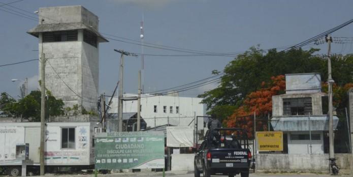 Al menos cinco heridos y una patrulla incendiada en riña al interior del penal de Matamoros. Foto: Cortesía