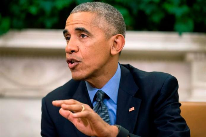 Obama refrendó su llamado a los residentes de zonas costeras a prestar atención a las recomendaciones de las autoridades estatales. Foto: Cortesía