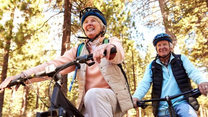El envejecimiento no necesariamente equivale a deterioro de la salud