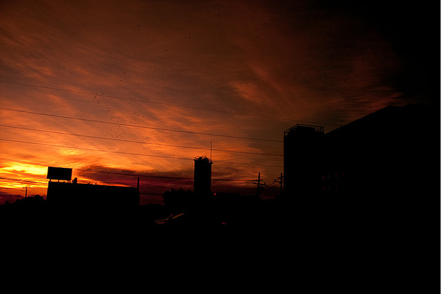 El día en que el cielo se puso rojo en Monterrey