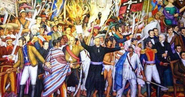Cuatro etapas de la Independencia de México
