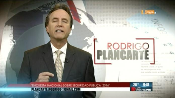 Opinión. Rodrigo Plancarte. Seguridad Pública