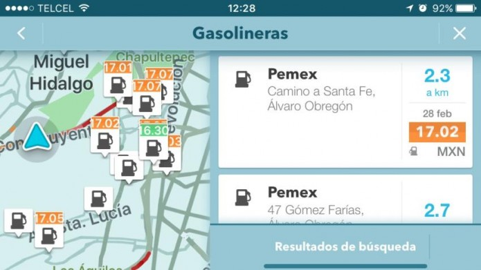 ¿Dónde te conviene cargar gasolina? Waze te lo resuelve