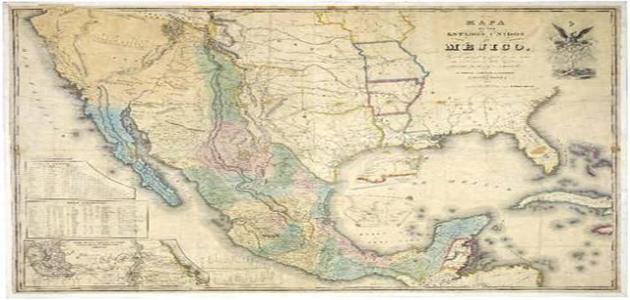La guerra de México y Estados Unidos, 1846.