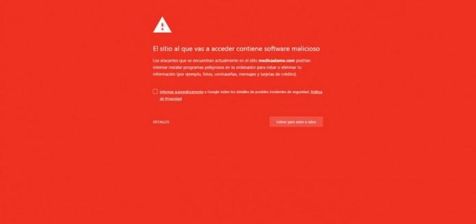 ¿Cómo saber si mi sitio web tiene virus?