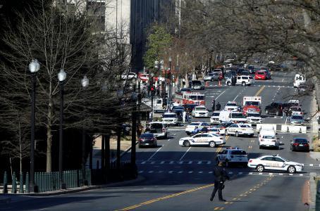 Policía descarta acto 'terrorista' tras intento de atropello en Capitolio