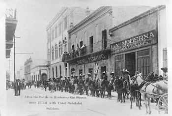 La otra batalla de Monterrey de 1913