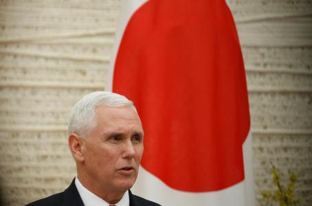 Pence reafirma a Japón compromiso de EU para frenar a Corea del Norte