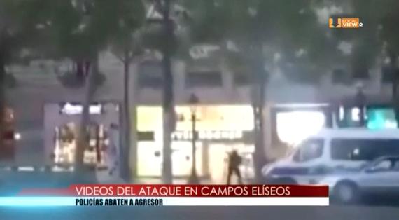 Video del atentado en París
