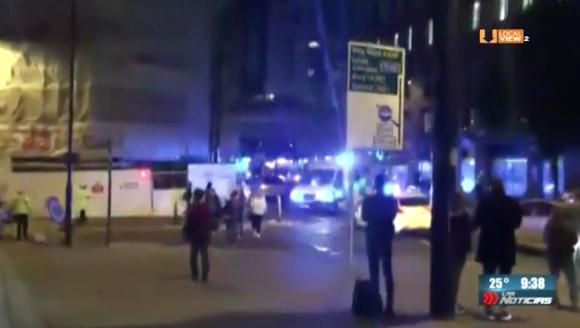 Video del atentado terrorista tras el concierto de Ariana Grande en Manchester. Suman 22 muertos