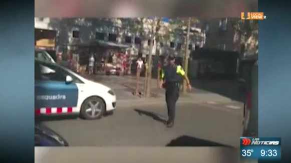 Testimonio de un regiomontano que vivió de cerca el atentado de ayer en Barcelona