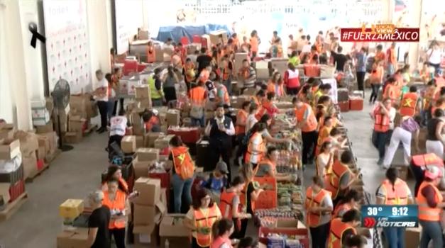 Una jornada más de ayuda en la Cruz Roja Mexicana Delegación Monterrey