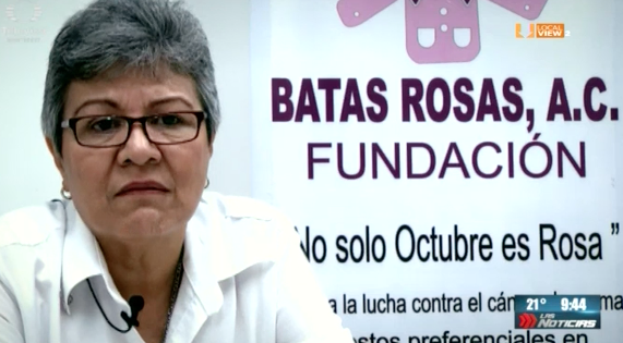 Campaña de concientización sobre la detección oportuna del cáncer de mama