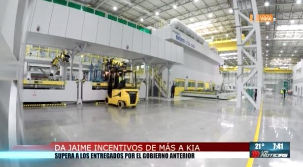 Los incentivos otorgados por el Gobierno de NL a la empresa KIA Motors superan a los considerados por la pasada administración